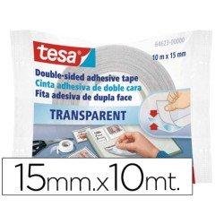 Rollo cinta adhesiva doble cara 10X15 Tesa (64623)