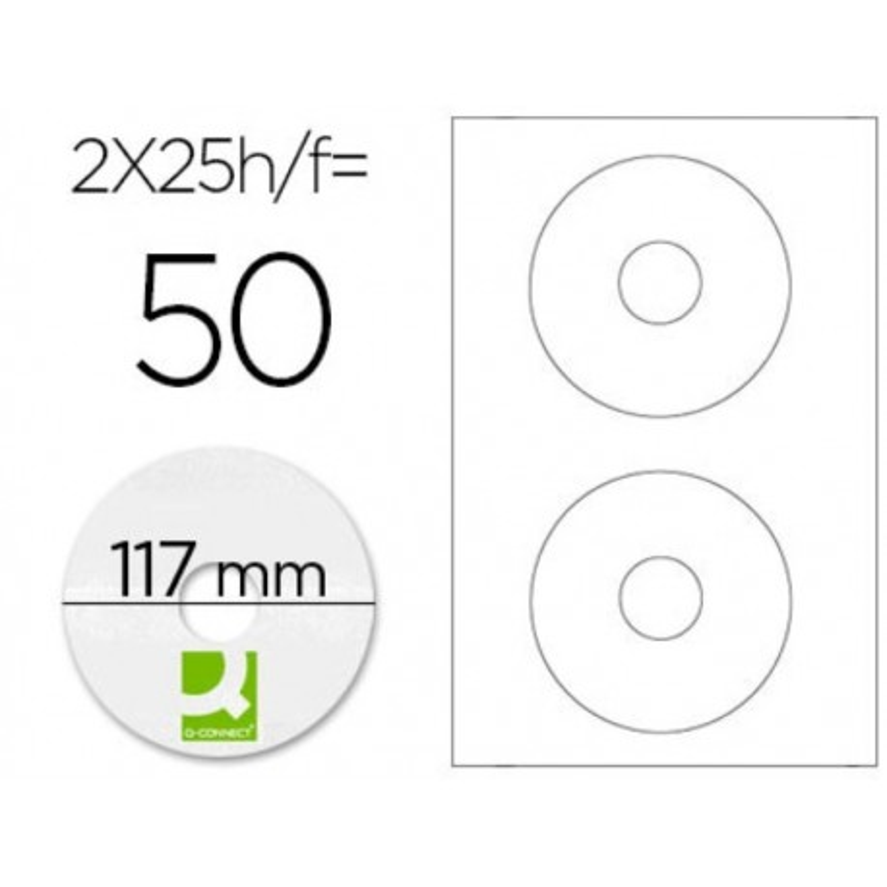 Etiquetas adhesivas para CD 01579