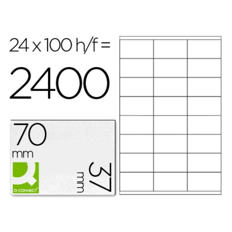 Etiquetas adhesivas 70x37mm 10647