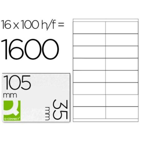 Etiquetas adhesivas 105x35mm 10653