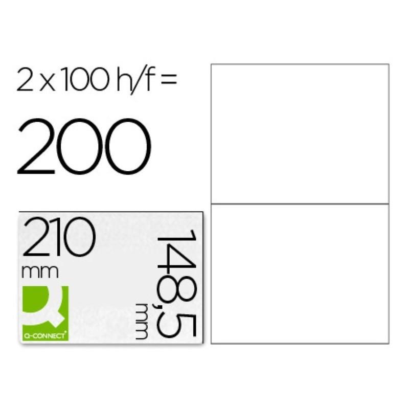 Etiquetas adhesivas 210x148,5mm 10662