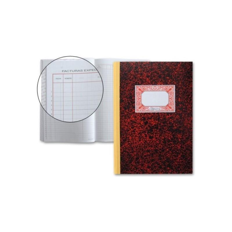 Libro Miquelrius 3018 registro de facturas emitidas