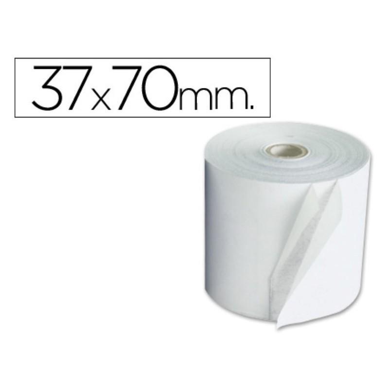 Rollo de papel para sumadora 37x70. Pack 10