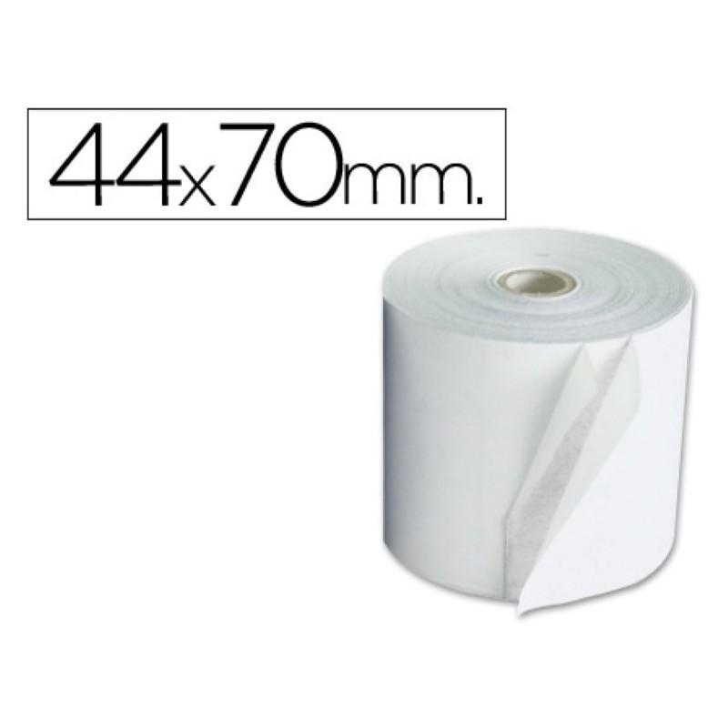 Rollo de papel para sumadora 44x70. Pack 10