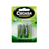 Pila recargable Cegasa HR03 AAA pack 4