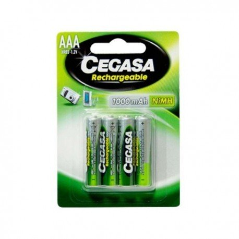 Pila recargable Cegasa HR06 AA pack 4
