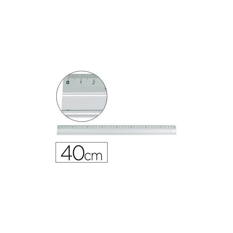 Regla metalica 40cm