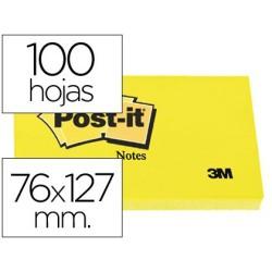 Post-it 76 X 127 notas adhesivas amarillas 655