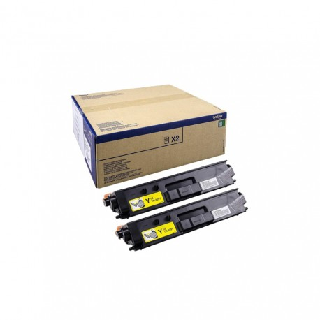Toner Brother TN329Y pack doble amarillo original twin