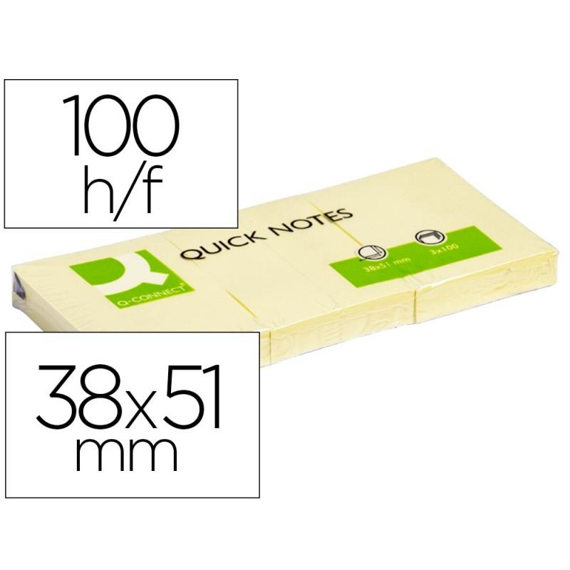 Notas adhesivas Q-connect 38 X 51 kf10500