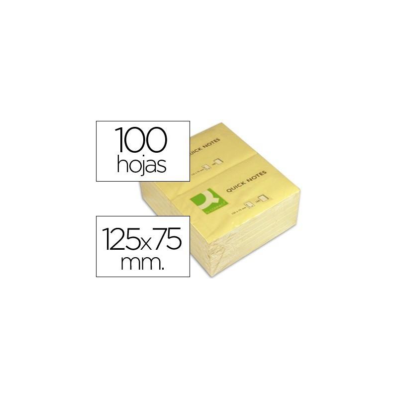 Notas adhesivas Q-connect 76 X 127 kf10503