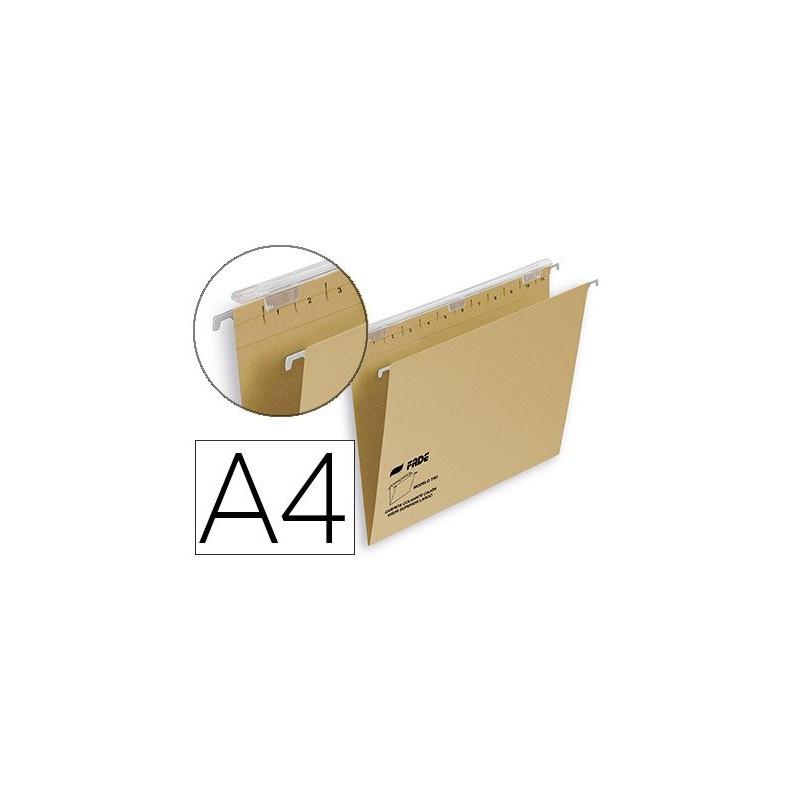 Carpeta colgante A4 kraft visor superior largo 400064814