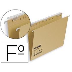 Carpeta colgante folio kraft visor superior largo 400064816