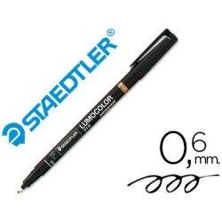 Rotulador Staedtler lumocolor fino negro 318-9
