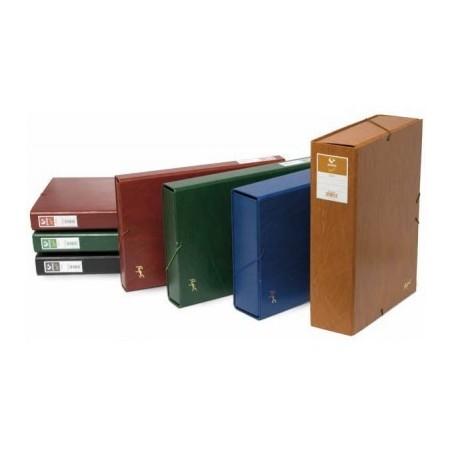 Caja proyectos lomo 3cm verde Grafoplas