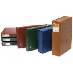 Caja proyectos lomo 5cm verde Grafoplas