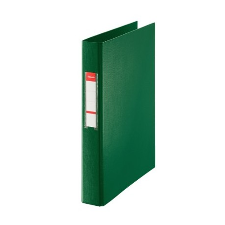 CARPETA DE ANILLAS Fº ESSELTE 25MM VERDE