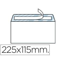 Sobre blanco 115X225mm (Americano) S/V
