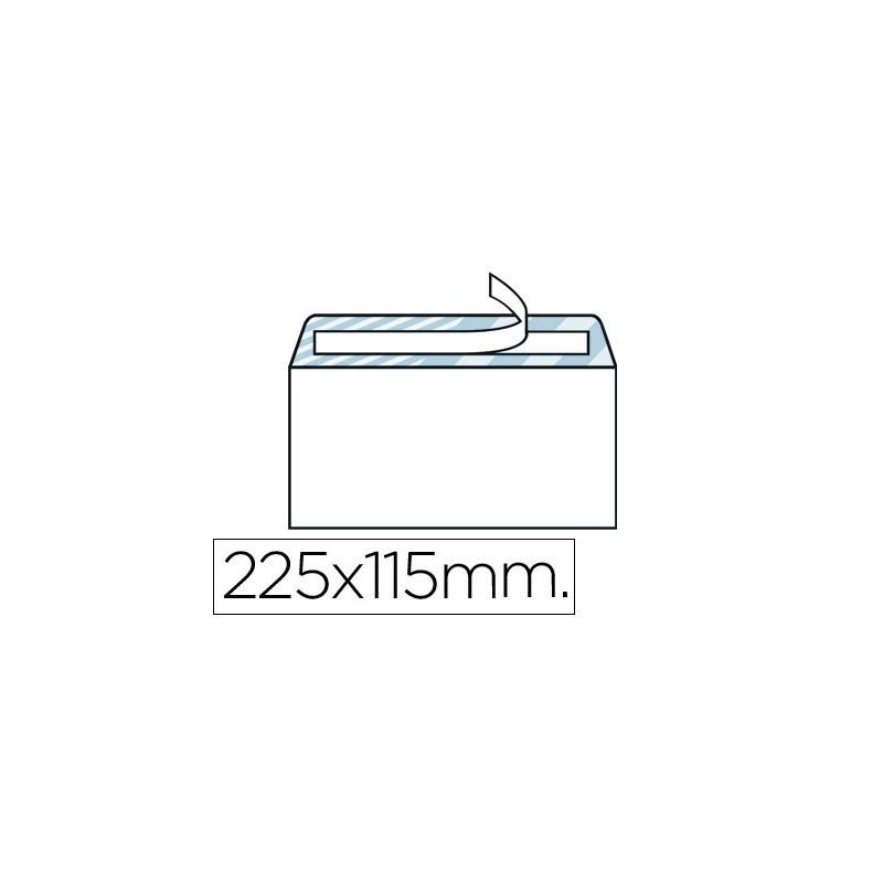 SOBRE BLANCO 115X225mm (AMERICANO ) S/V