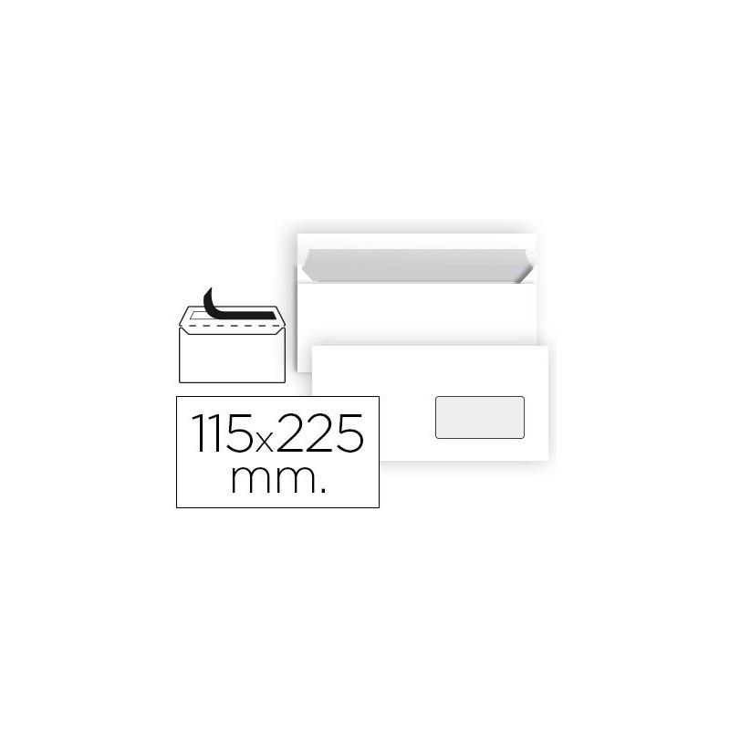 SOBRE BLANCO 115X225mm (AMERICANO ) V/D