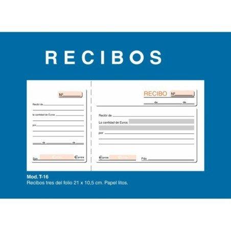 Talonario de recibos Loan T16 1/3 sin copia
