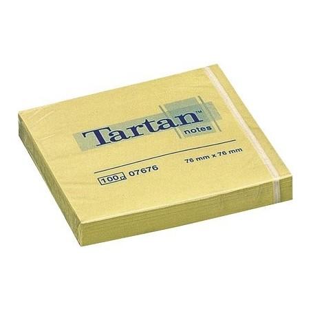 Notas adhesivas Tartan 76 X 76