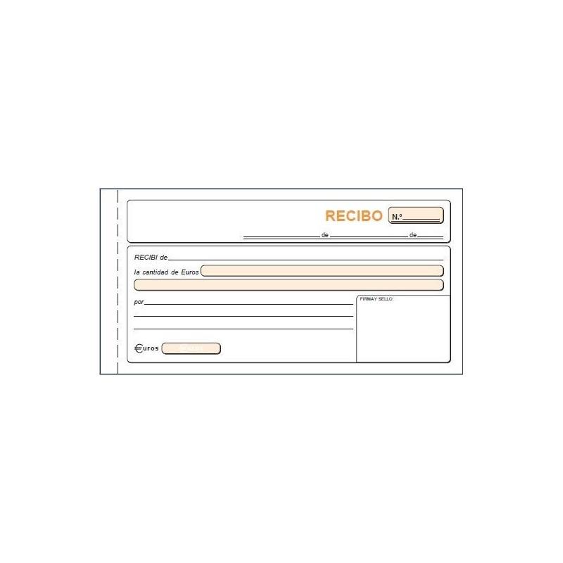 talonario de recibos autocopiativo loan modelo t60 1 3 duplicado