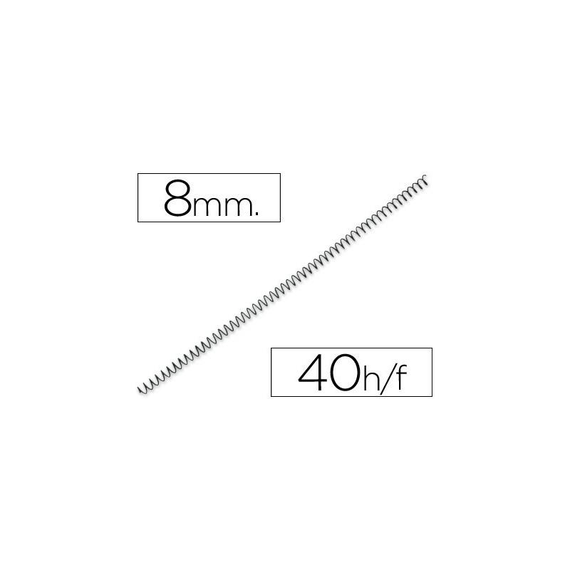 Espiral metalico paso 64 5:1 8mm