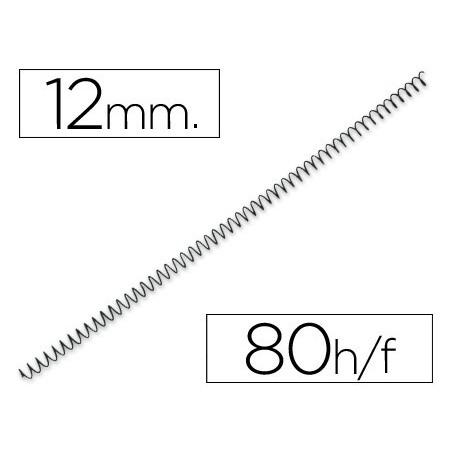 Espiral metalico 64 5:1 12mm