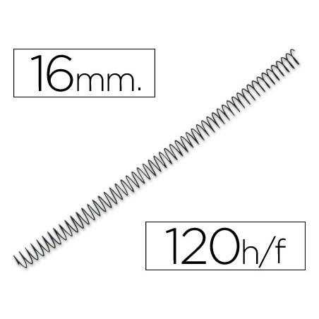 Espiral metalico 64 5:1 16mm