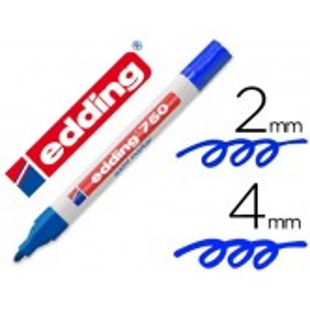Edding 750 paint marker rotulador permanente azul