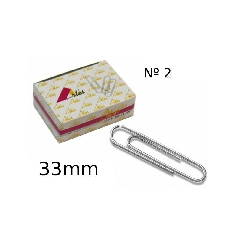 Clip labiado Artes 33mm numero 2