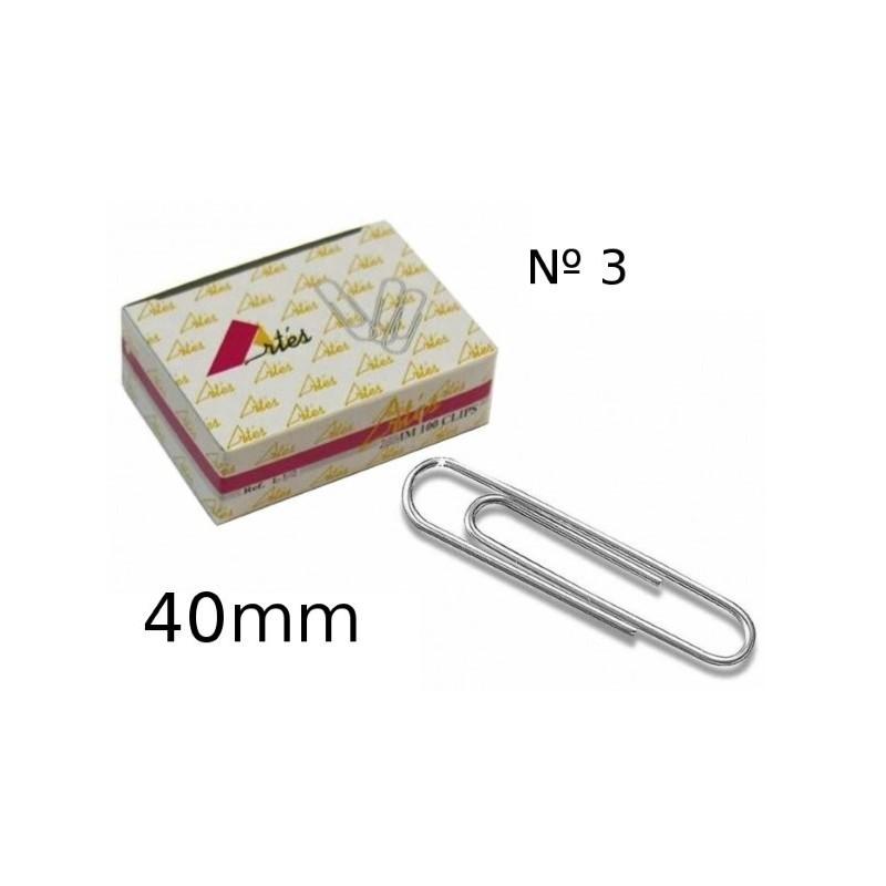 Clip labiado Artes 40mm numero 3