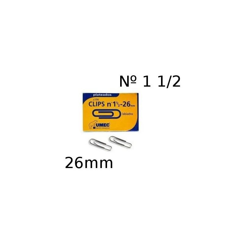 Clip labiado Umec 26mm numero 1-1/2