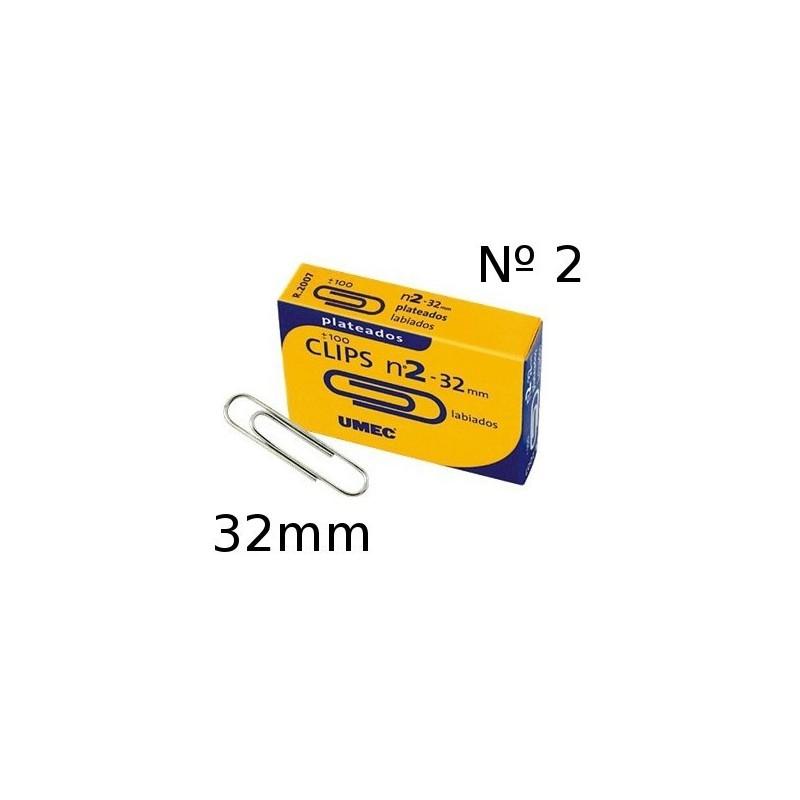 Clip labiado Umec 32mm numero 2