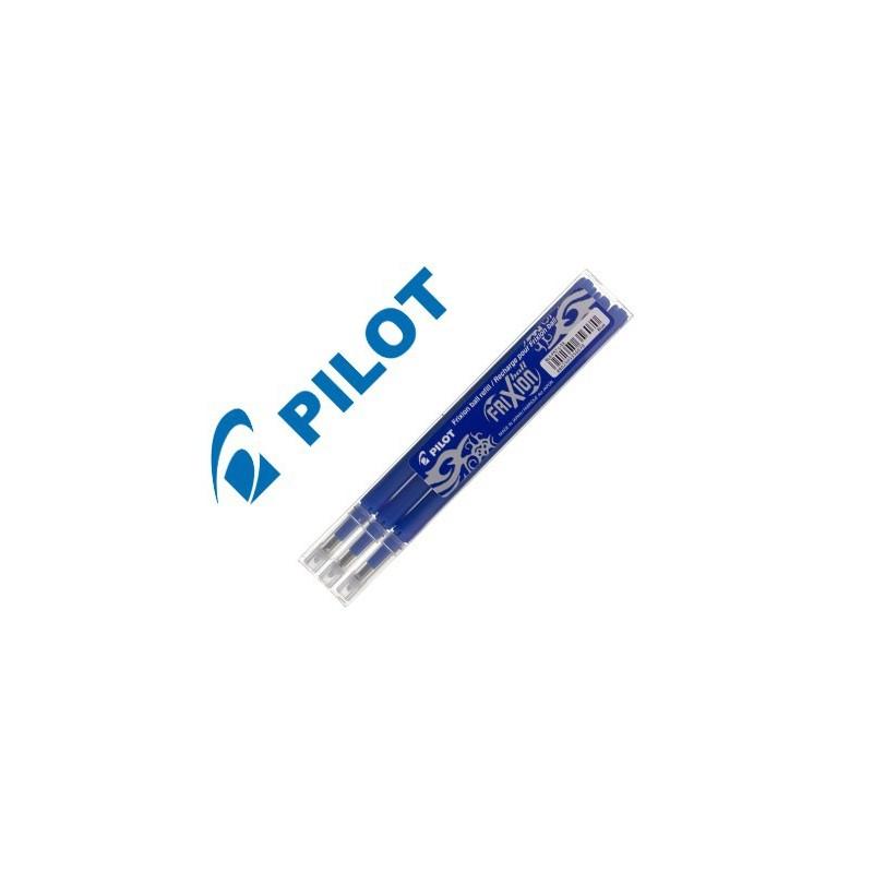 Recambio Pilot Frixion boligrafo borrable azul