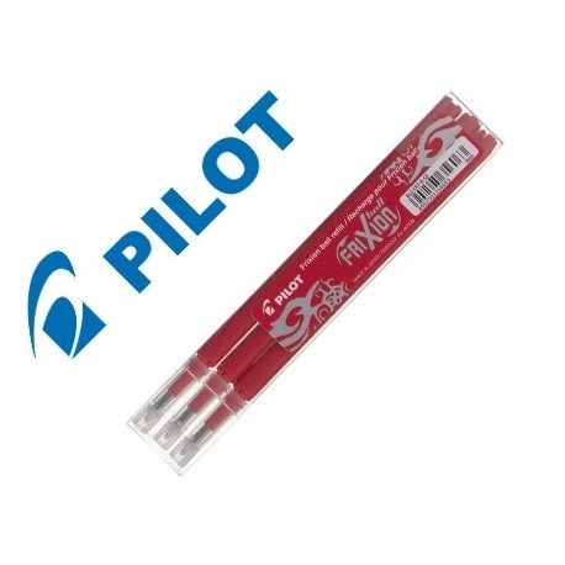 Recambio Pilot Frixion boligrafo borrable rojo