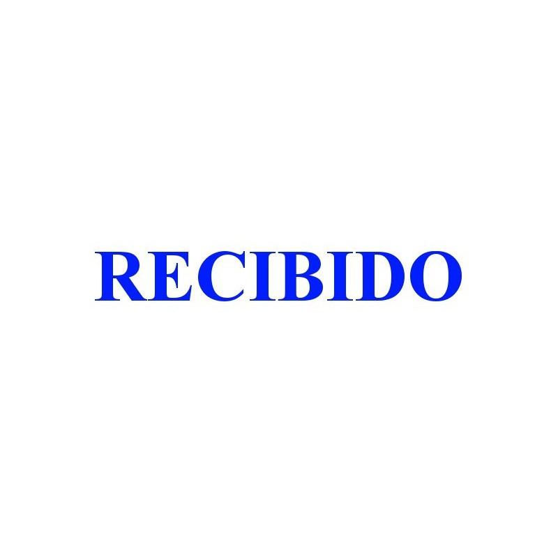 Sello Trodat Printy 4911 RECIBIDO azul