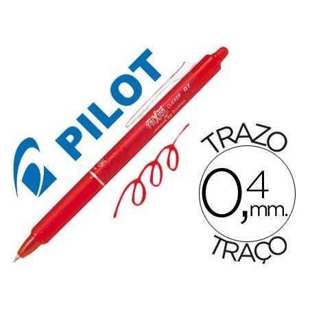 Pilot Frixion Clicker boligrafo borrable rojo 0,7 BLRT-FR7R