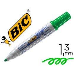 Rotulador Bic Velleda 1701-02 verde para pizarra blanca