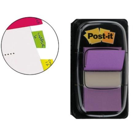 Post-it dispensador de 50 index violeta 680-8