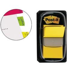 Post-it dispensador de 50 index amarillo 680-5
