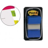 Post-it dispensador de 50 index azul 680-2