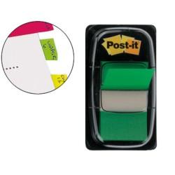 Post-it dispensador de 50 index verde 680-3