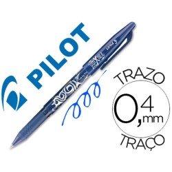 BOLIGRAFO BORRABLE PILOT FRIXION BALL BL-FR7 AZUL PUNTA DE BOLA 0,7mm