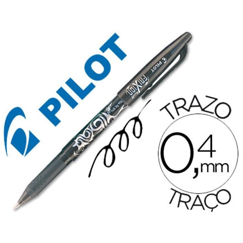 BOLIGRAFO BORRABLE PILOT FRIXION BALL BL-FR7 NEGRO PUNTA DE BOLA 0,7mm