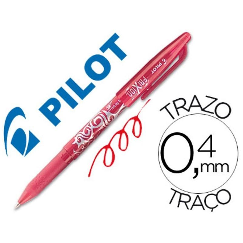 BOLIGRAFO BORRABLE PILOT FRIXION BALL BL-FR7 ROJO PUNTA DE BOLA 0,7mm