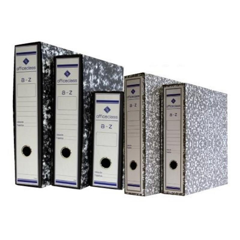 Caja archivador Officeclass folio negra 500072