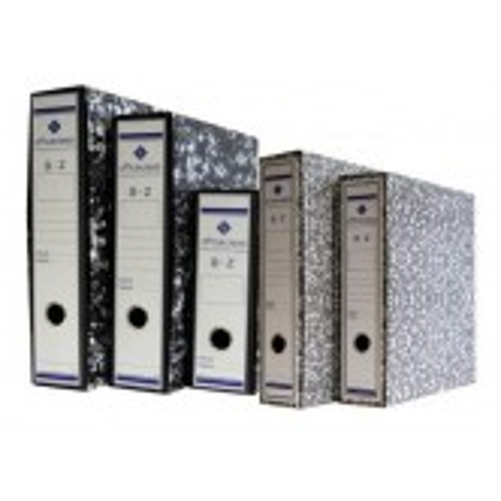 Caja archivador Officeclass A4 negra 500077