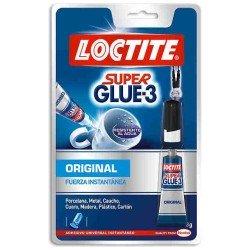 Pegamento Loctite Super Glue 3 original 3g